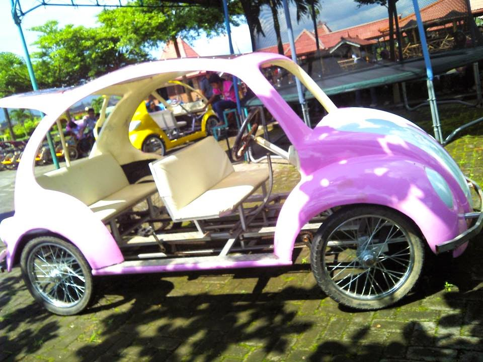 Mobil Mini - Wisata Kampoeng Rawa