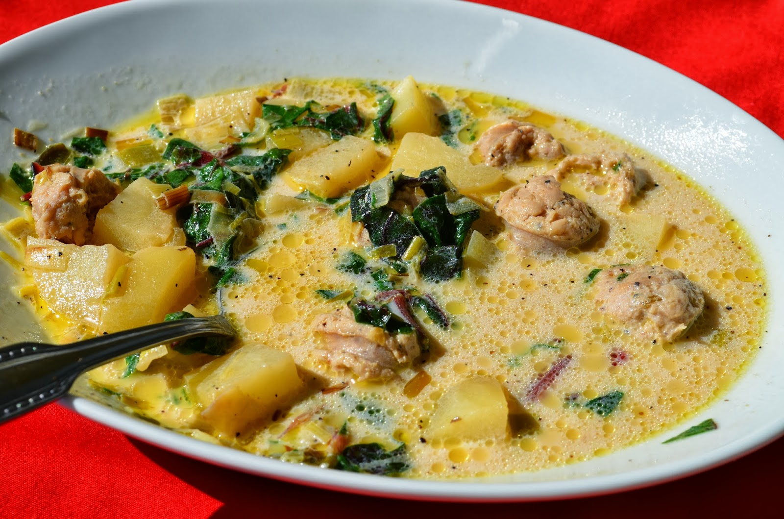Sheilah 39 S Kitchen Zuppa Toscana The Light Version