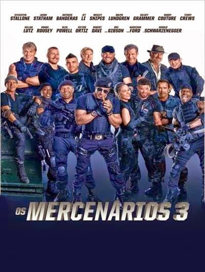 Os Mercenários 3   DVDScr AVI + RMVB Legendado