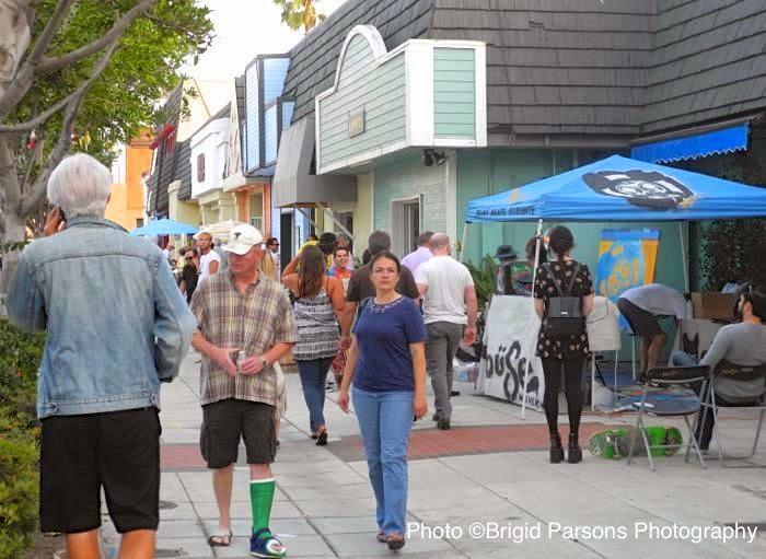 Walking The Artists Alley Oceanside CA