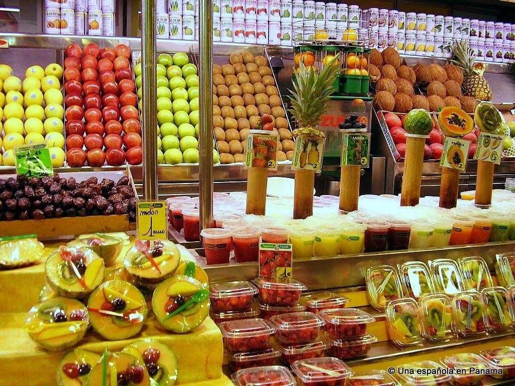 mercado san jose boqueria