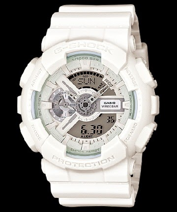 CASIO G-SHOCK BIG-CASE GA-110BC-7AJF White Color