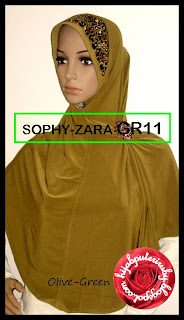 - SOPHY-ZARA GR11 Olive-Green