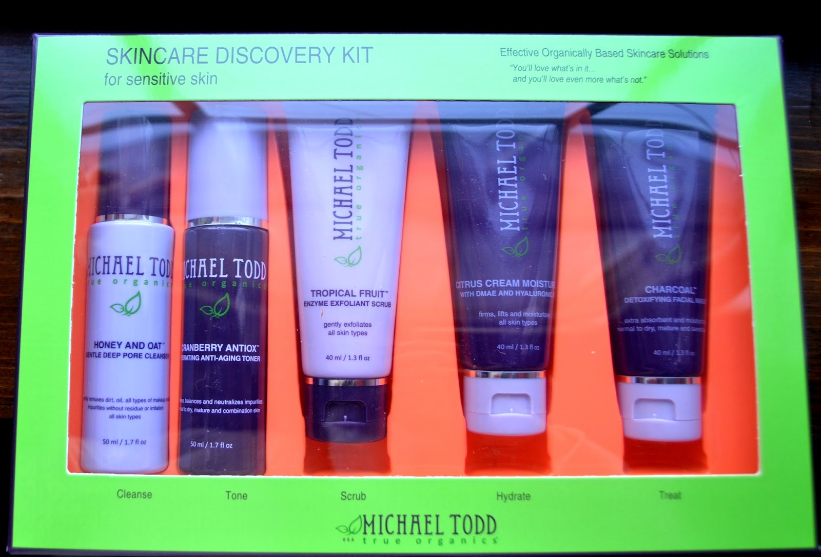 Michael Todd Skincare Discovery Kit