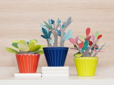 Paper plants Port-a-Plant