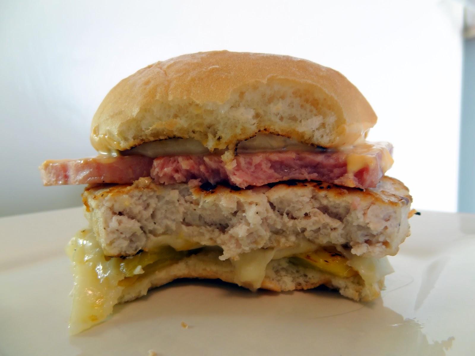 Hot Hawaiian Burgers (Spam, Pineapple, Swiss, And Sriracha Mayo ...