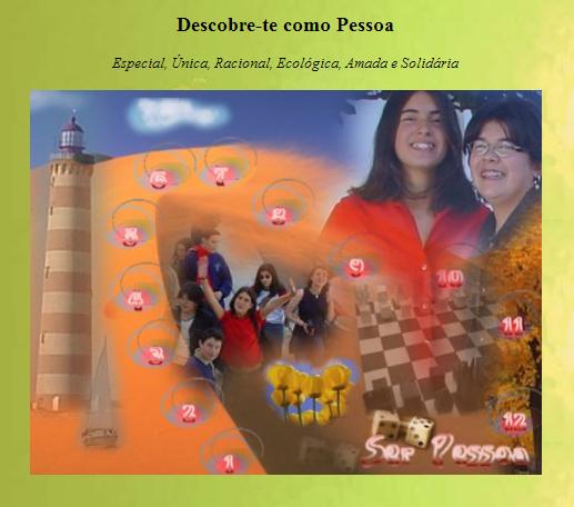 """Jogo """"Ser Pessoa"""""""