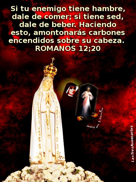 image de la virgen con santa faustina cargando un cudro de la divina misericordia