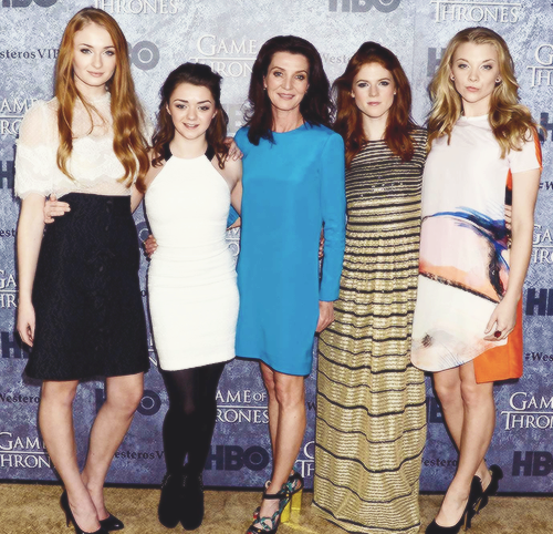Game of thrones female cast