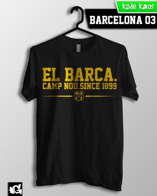 Jual Kaos Bola Gaul barcelona