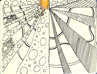 Zentangle - Ink - by Ana Tirolese ©2012