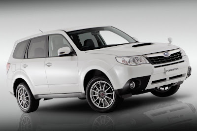 2010 Subaru Forester S-Edition Concept turbocharged