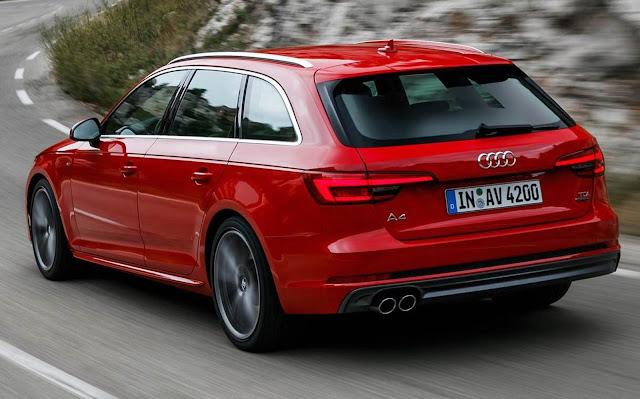 Novo Audi A4 2017 Avant