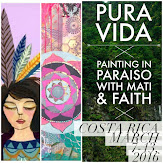I'm teaching in Costa Rica!! Come along on a beautiful painting adventure...