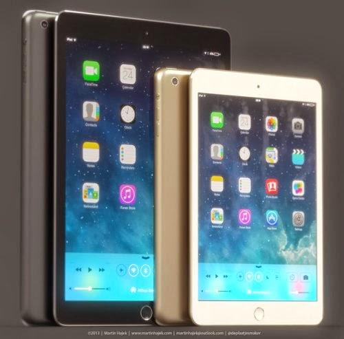 Primi rendering grafici dei prossimi tablet Apple in arrivo entro la fine dell'anno
