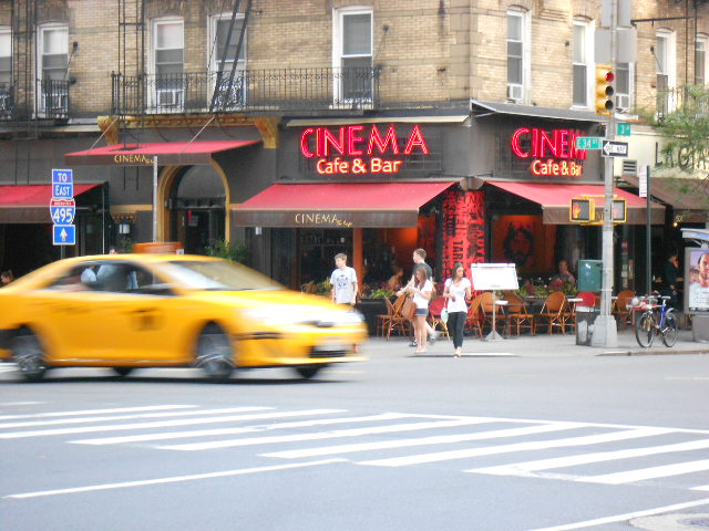 Cinema bar