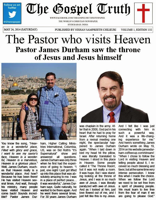 The Gospel Truth Newspaper May 2014