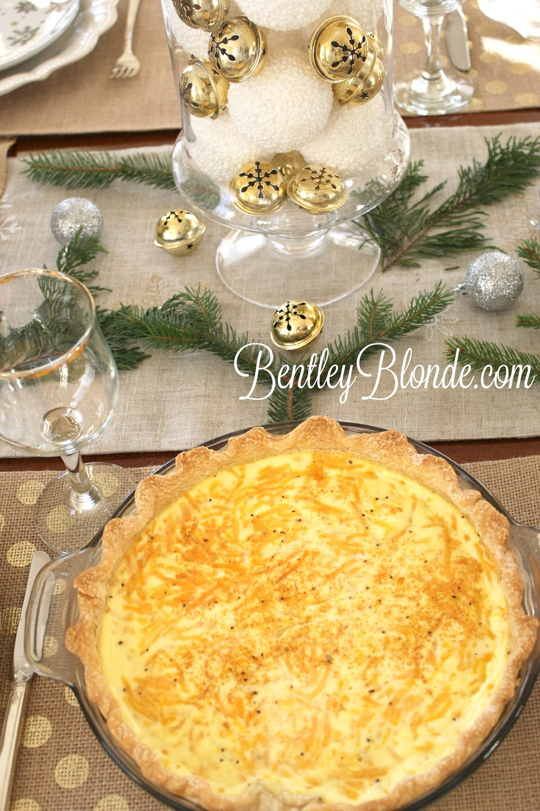 Bentleyblonde easy ham cheese quiche recipe holiday for Decoration quiche