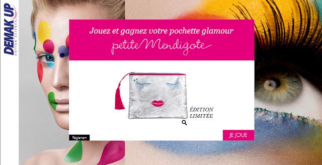 Concours Demak'Up : gagnez 1000 pochettes Petite Mendigote Mademoiselle Bons Plans