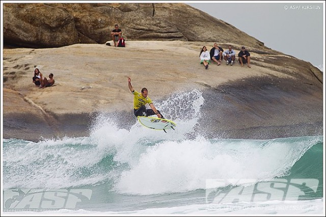 Billabong Rio Pro Arpoador round 2 WCT ASP