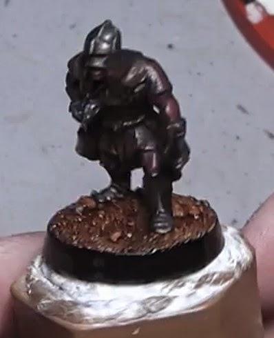 Cómo pintar un explorador Uruk-hai