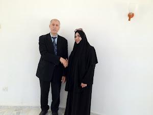المرشحة زينب   عن بنغازي
