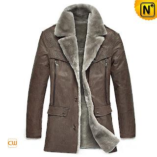 Men Fur Lined Coat