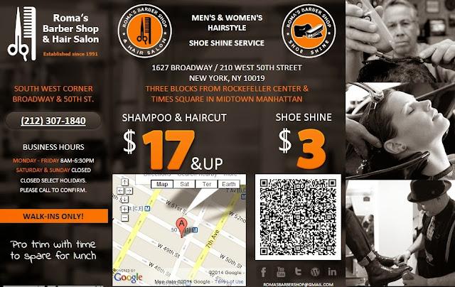 Barber Shop Midtown West New York 10019