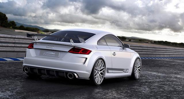 Audi TT RS Quattro Sport