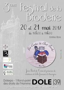Festival de la broderie à Dole les 20 et 21 mai 2017
