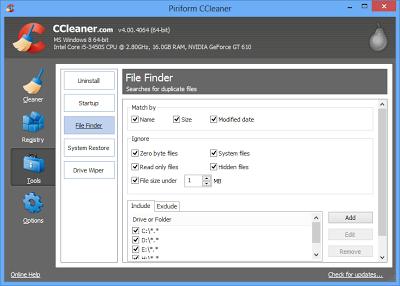 تحميل برنامج سي كلينر 2014 المجاني Download CCleaner 2014