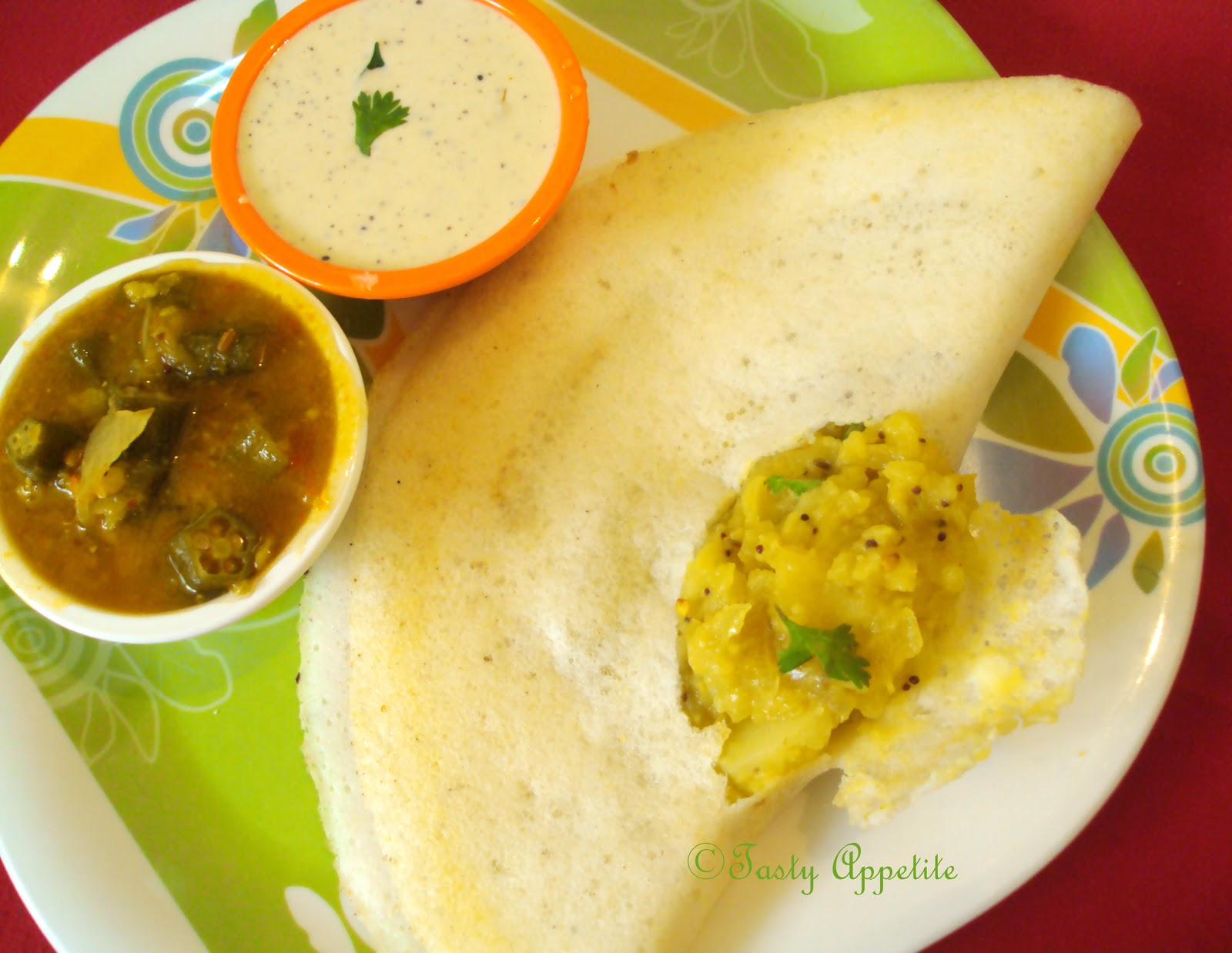 Masala dosa south indian pancakes with aloo filling forumfinder Gallery