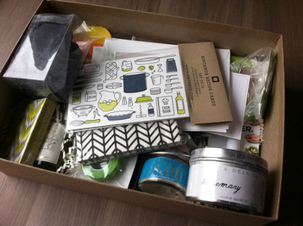 Birchbox Limited Edition Home Box - December 2012 Review