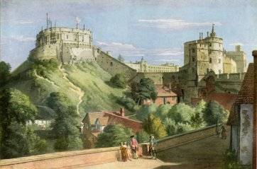 A-of Windsor Castle Windsor Castle - Water Color Painting