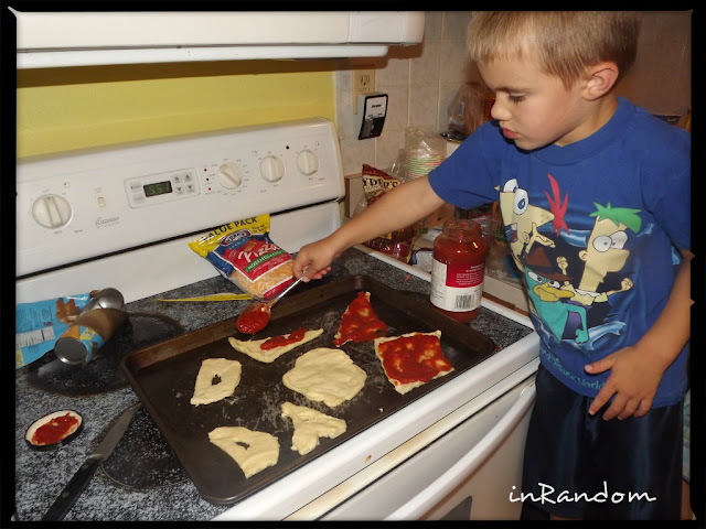 Making Pizza for Dad