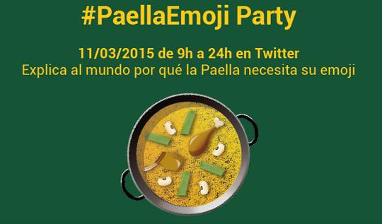 Queremos el Emoji de la Paella.
