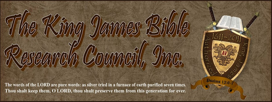 King James Bible Research Council