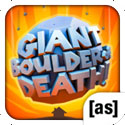 Giant Boulder of Death App iTunes App Icon Logo By [adult swim] - FreeApps.ws