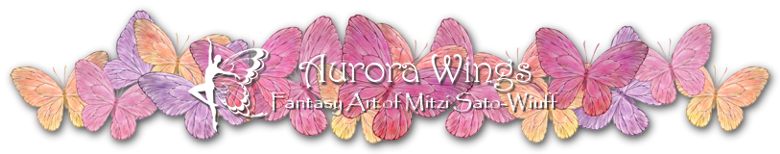 Aurora Wings - Fantasy Art of Mitzi