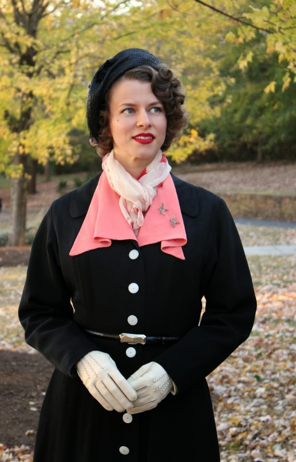 My Vintage Winter #vintage #winter #fashion #1940s #style