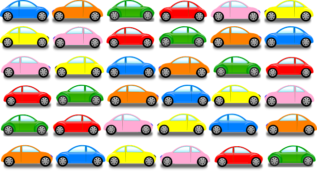 Cars Pattern Clipart Free