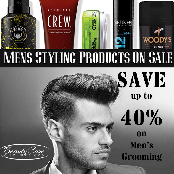 Save BIG on Men's Styling