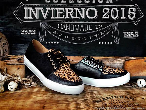 Zapatos otoño invierno 2015 Marignan.