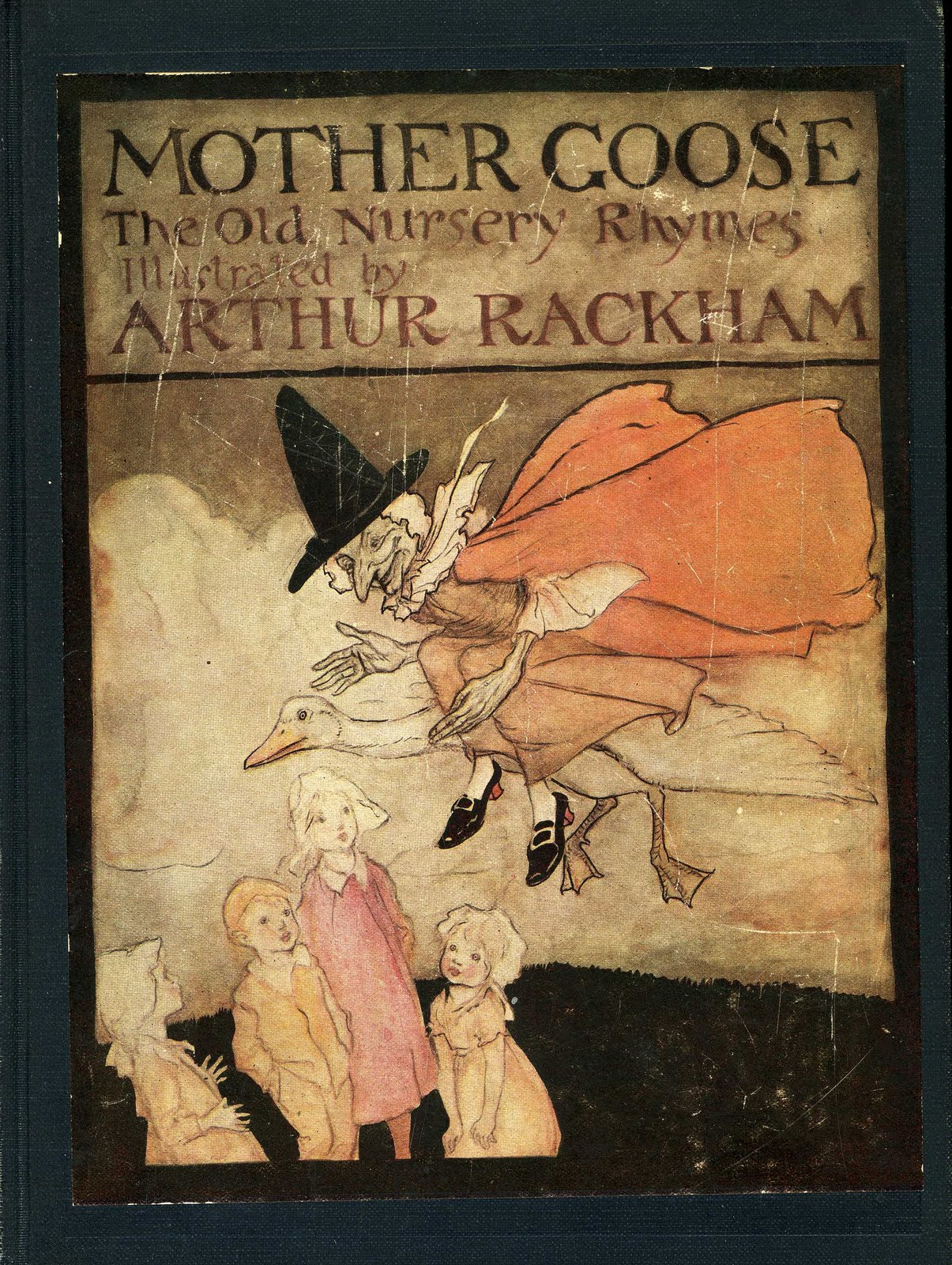 I Then Pulled A Few More Ma Goose Books From The Shelf And They Also Supported My Theory Hey Subsute Broomstick For That She S Flying You