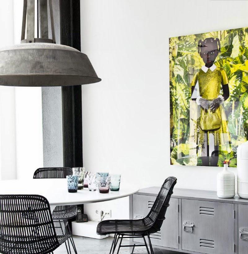 Ideas de cómo decorar con lamparas gran tamaño