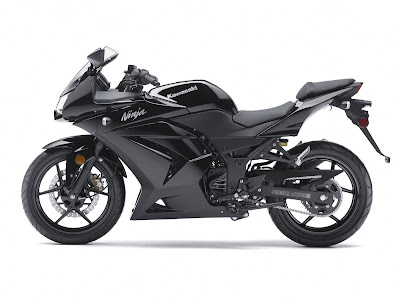 2011 Kawasaki Ninja 250R Black Color