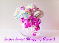 premio super sweet blogging e the versatile blogger award