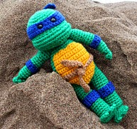 Free Crochet Teenage Mutant Ninja Turtle Pattern : 2000 Free Amigurumi Patterns: Teenage Mutant Ninja Turtle