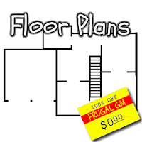 Free GM Resource: Convenience Store Floorplans