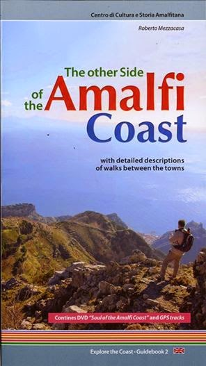 The new guide to walk on Amalfi Coast, The DVD contains GPS traks